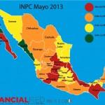 INPC Mayo 2013 México Infografía