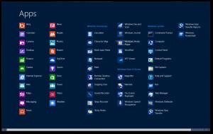 aplicaciones windows 8