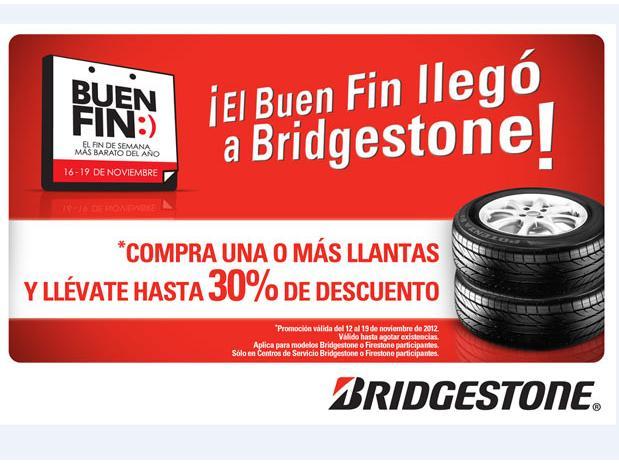 buen fin bridgestone
