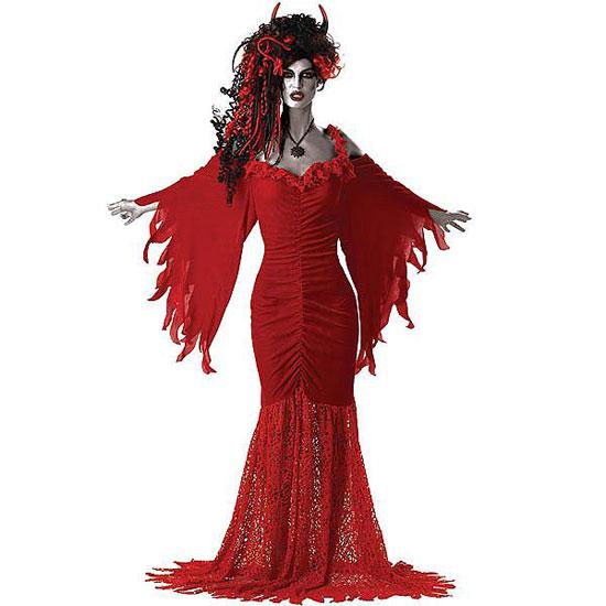 disfraz de halloween mujer diablesa