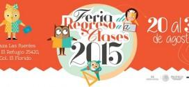 Calendario de la Feria de Regreso a Clases 2015