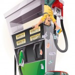 ¿Cuánto cuesta llenar el tanque de gasolina?