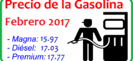Precio de la Gasolina 2017