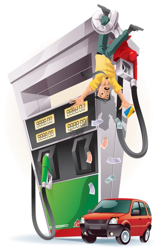 El coste de 1 litro de la gasolina 92 moskva
