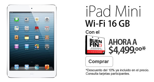 ipad mini liverpool buen fin