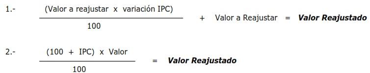 ipc ajustado calcular