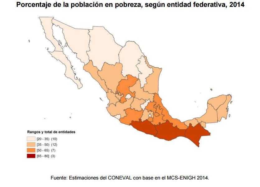 mapa pobreza mexico