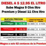 Aumenta el precio de la gasolina en marzo 2014